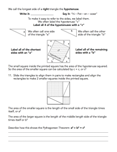 Pythagorean Proof Assignment - page 2